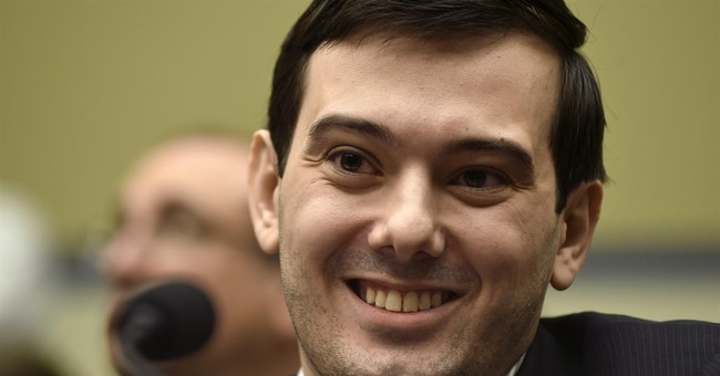 Shkreli campaign for boss music collection rolls on