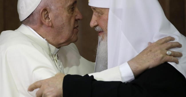 Pope-Patriarch meeting seen by Russians as significant