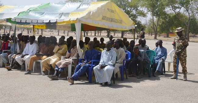 Nigerian army frees 267 detainees, no links to Boko Haram
