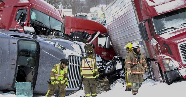 The Latest: Police say I-78 to remain closed for night