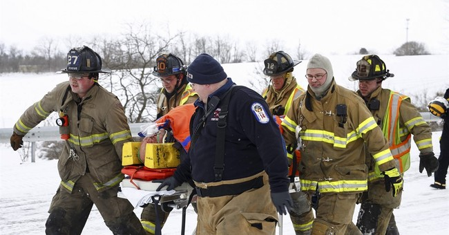 Police: 3 killed, scores to hospitals after huge I-78 pileup