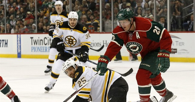Wild fall 4-2 to Bruins, fire coach Yeo after game