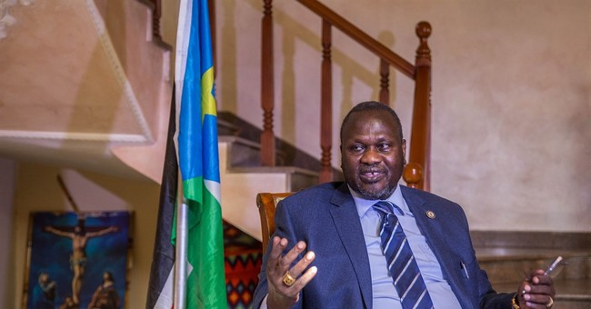 South Sudan rebel leader says he is will take up VP position
