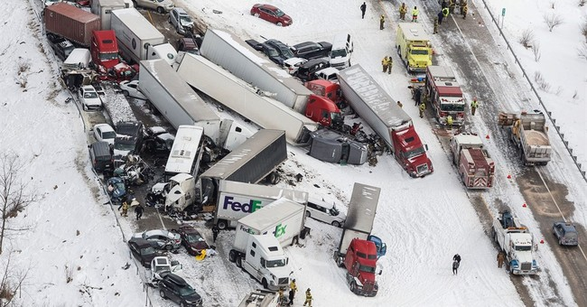 Police release names of 3 killed in I-78 crash during squall