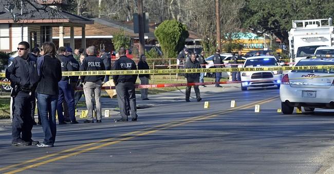 DA: Suspect shot first in battle injuring suspect, officers