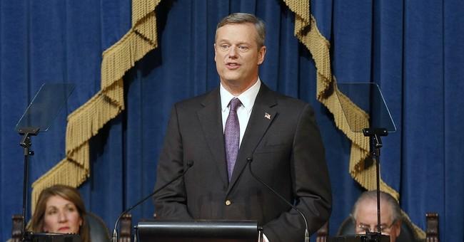 GOP governor stays popular in Democratic Massachusetts