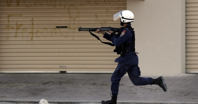 Bahrain protesters clash with police on uprising anniversary