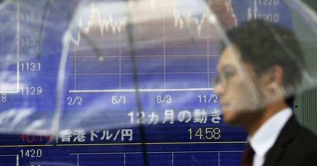 The Latest: European stocks close sharply higher, euro falls