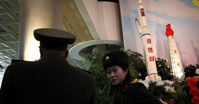North Korea displays rockets, begonias for leader's birthday