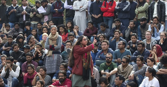 Indian students, teachers protest after nationalist violence