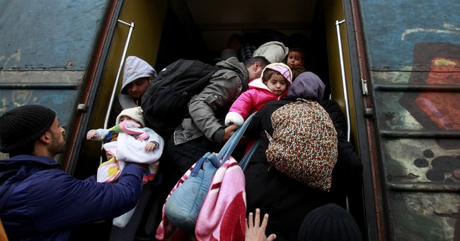 The Latest: 4 Central Europe PMs call for Plan B on migrants