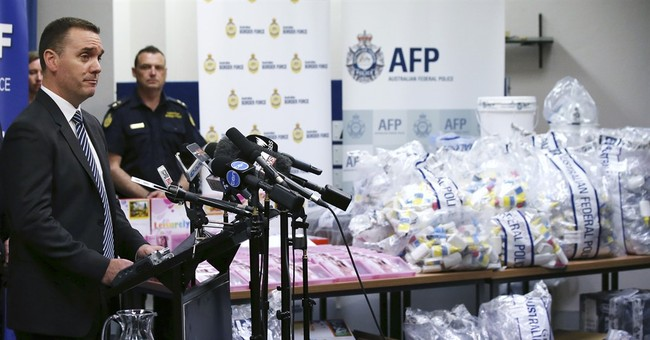 Australian police seize $900 million in methylamphetamine