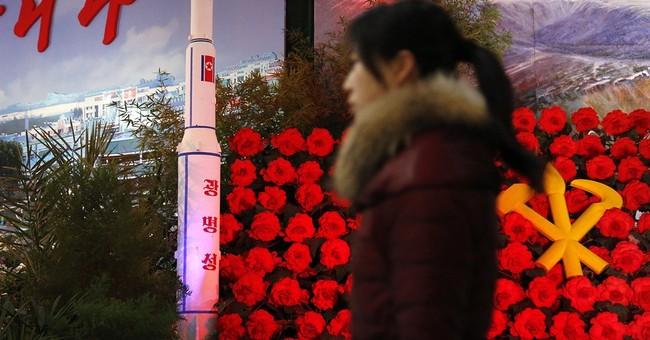 North Korea displays rockets, begonias for leader's birthday