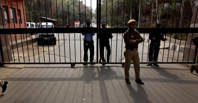 Student leader's arrest leads to protest at India university
