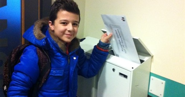 Syrian boy writes emotional letter to Swedish king