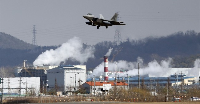 US stealth jets fly over S. Korea amid N. Korea standoff