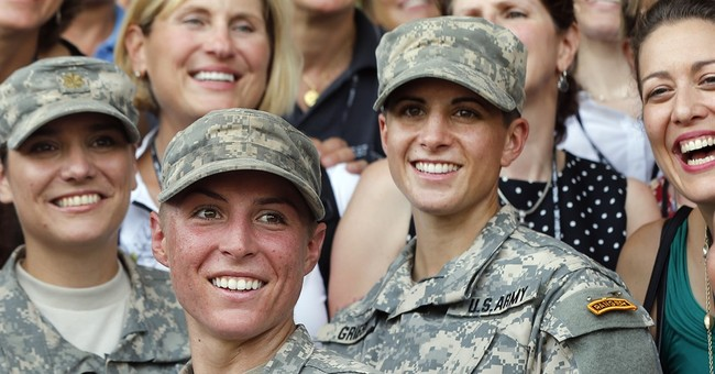 Combat jobs for women stir questions about the draft