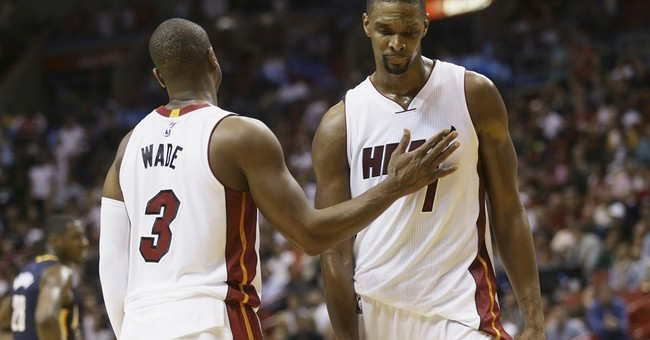 AP Source: Chris Bosh resumes taking blood thinners