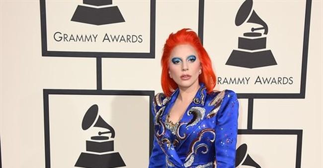 Taylor Swift rocks a crop, Lady Gaga does Bowie at Grammys