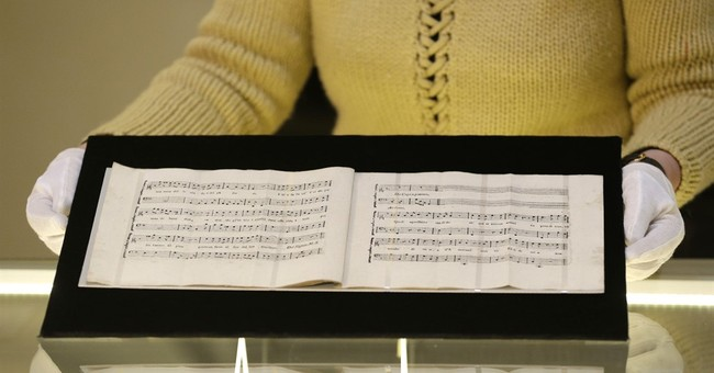 Czechs present lost music composed by Mozart and Salieri