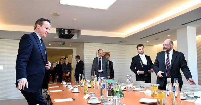 British leader in Brussels ahead of key talks on EU future