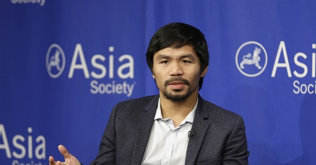 Manny Pacquiao sorry for saying gays 'worse than animals'