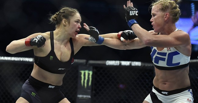 Rousey thought about killing herself after losing to Holm