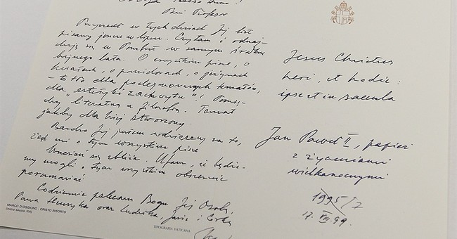 John Paul's letters to a woman hint she could have loved him