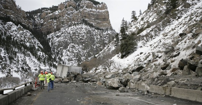 Rock slide will keep Colorado highway mostly shut for weeks