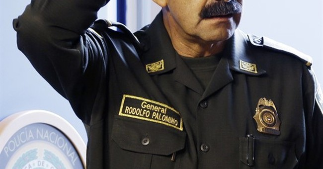 Colombia's police chief resigns over sexual misconduct probe
