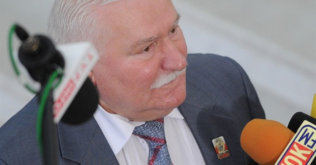 Old documents revive Poland's debate over Walesa's past
