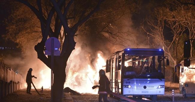 Turkey blames Kurdish militants for Ankara car bombing