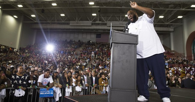 Rapper's comments at Sanders rally spark controversy