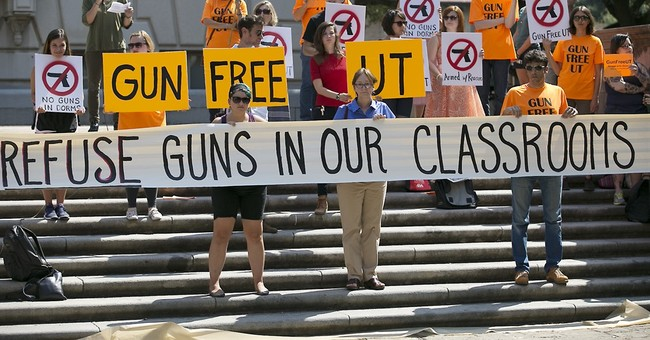 University of Texas head begrudgingly OKs campus gun rules