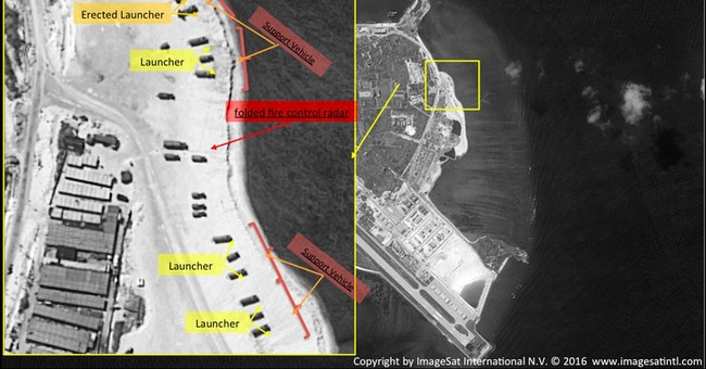 US accuses China amid signs of missiles on disputed island