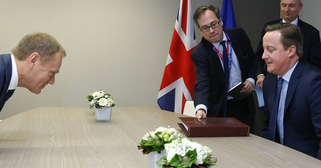 Britain and EU still don't agree on benefits, treaty change