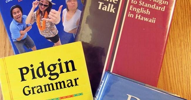 Data inspires pride for Pidgin, a Hawaii language