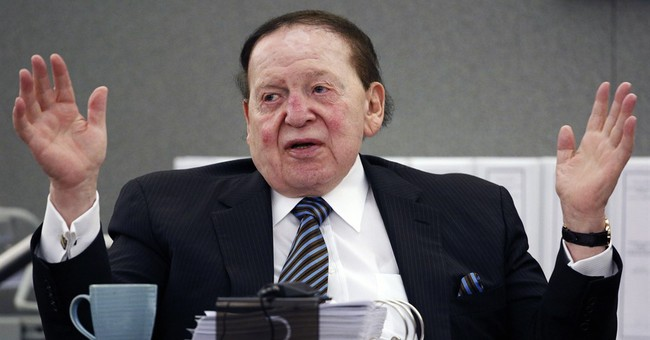 Casino magnate Adelson facing 49 hours of pretrial questions