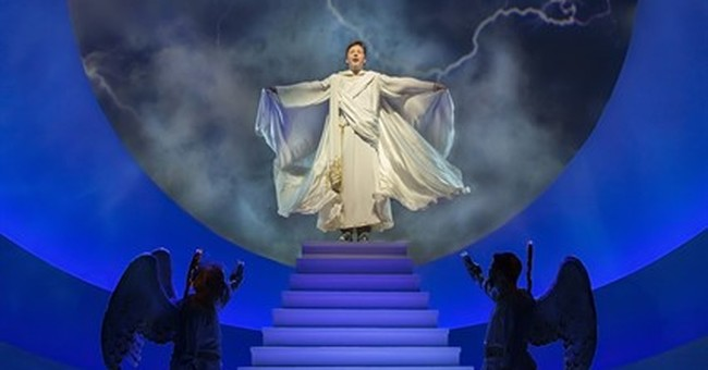 Sean Hayes takes on heavenly stage role in 'An Act of God'