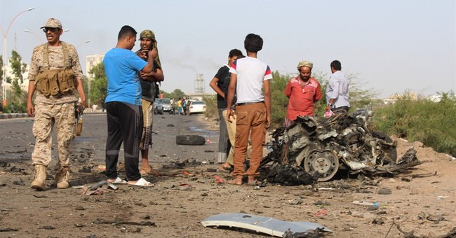 Governor of Yemen's Aden survives car bomb that kills 2