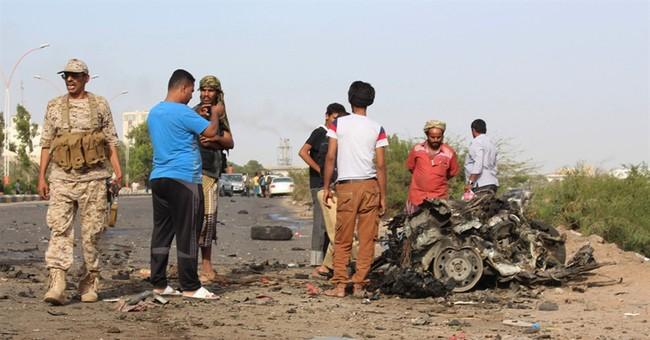 Governor of Yemen's Aden survives car bomb that kills 2