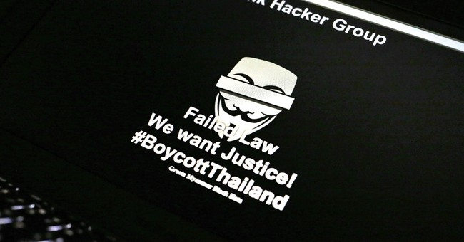Thai police websites hacked with 'Failed Law' message