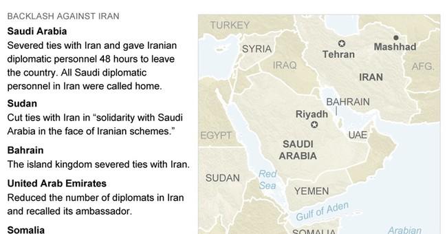 The Latest: UN says Saudi-Iran crisis won't hurt Syria talks