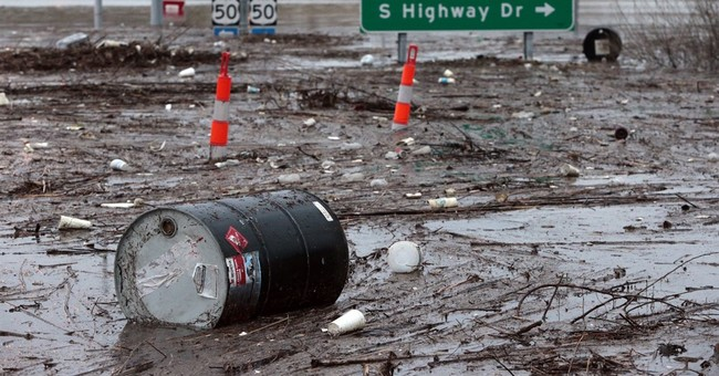 Floodwaters draw warnings anew about wastewater, pollutants