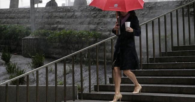 The Latest: El Nino-driven storm sets rainfall records
