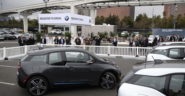 Autonomous car breakthroughs featured at CES gadget show
