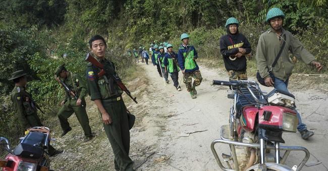 Myanmar activists say destruction of opium fields blocked