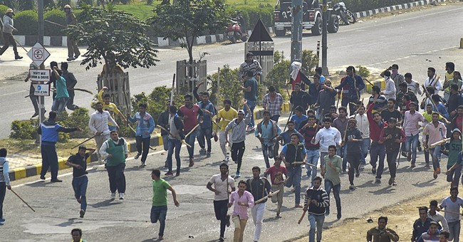 1 dead as India protests for caste benefits turn violent