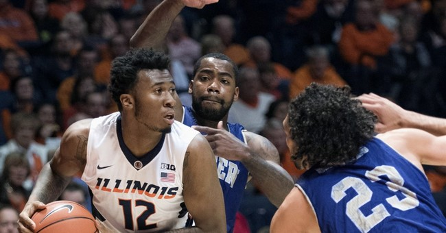 Illinois forward Black pleads not guilty after bar fight