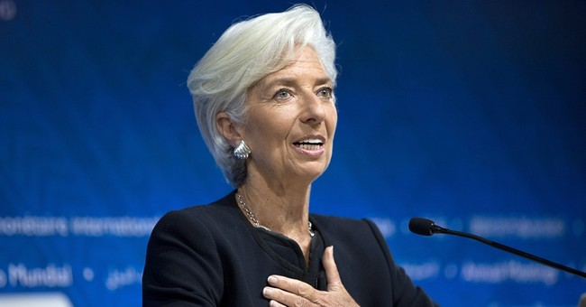 IMF gives Christine Lagarde second term as managing director